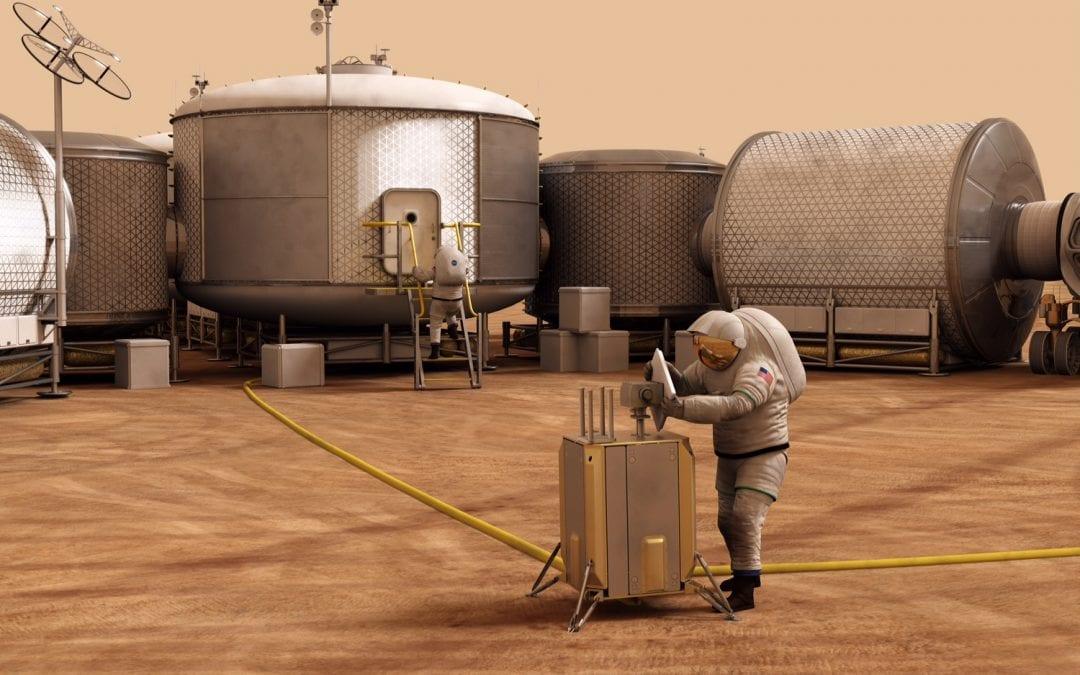 3D Printing, the Moon and Martian Habitats