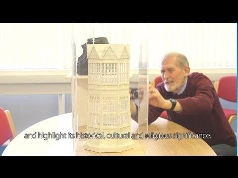 3D Printed Buildings! Bringing lost buildings back to life