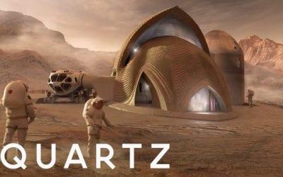 NASA wants to 3D print houses on Mars