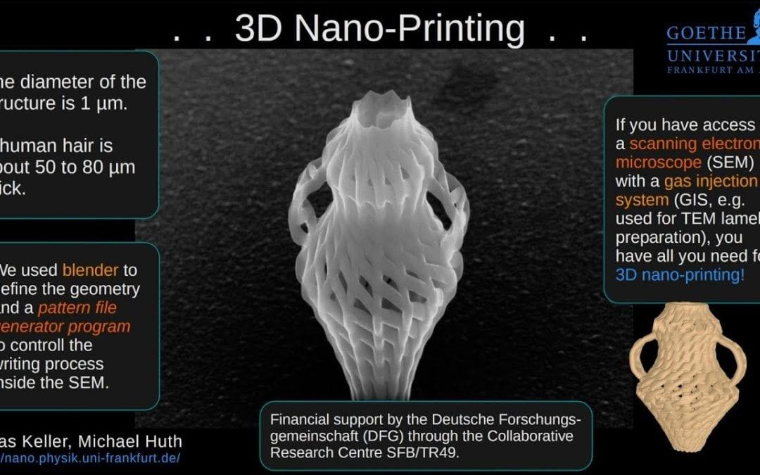 3D Nano-Printing