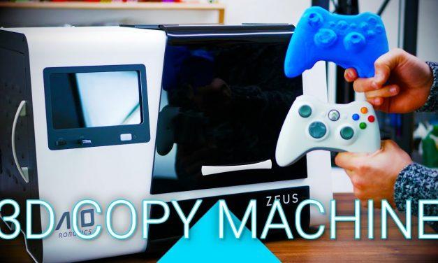 3D Scanner, Printer and Copier – AIO Robotics ZEUS review!