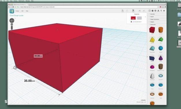 Beginner 3D Modeling for 3D Printing (4 of 6): Design Tips for Tinkercad for 3D Printing