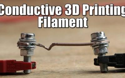 Conductive 3D Printing Filament – Resistance/Power Test