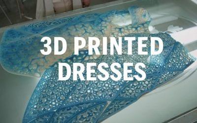 Designing 3D Printed Dresses | FASHION AS DESIGN