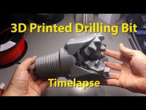 3D Printed Drilling Bit