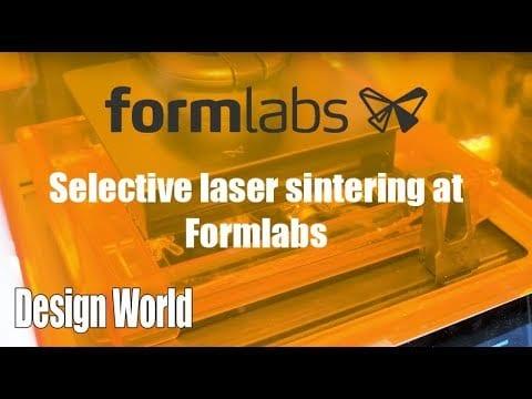 Selective laser sintering at Formlabs