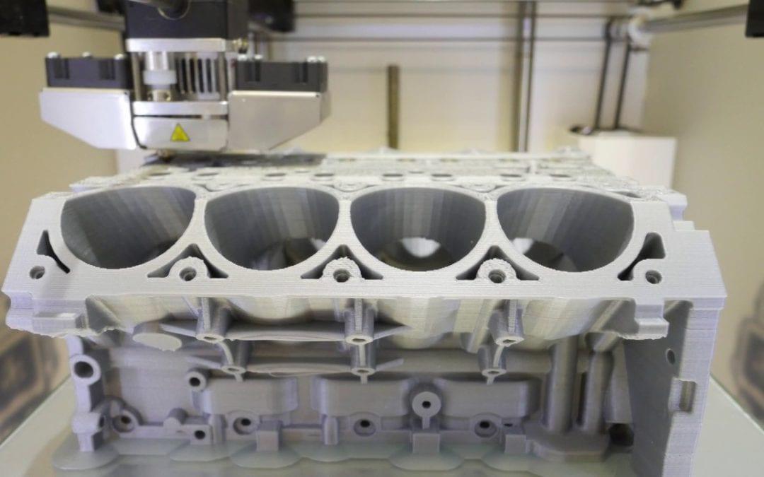 LS3 Engine Block 3D Print 84 hour Time Lapse