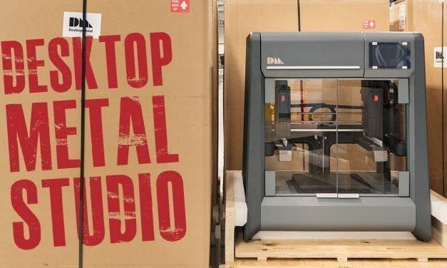 Desktop Metal Studio 3D Printer | Affordable Metal 3D Printing for the Office