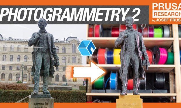 Photogrammetry 2 – 3D scanning simpler, better than ever!