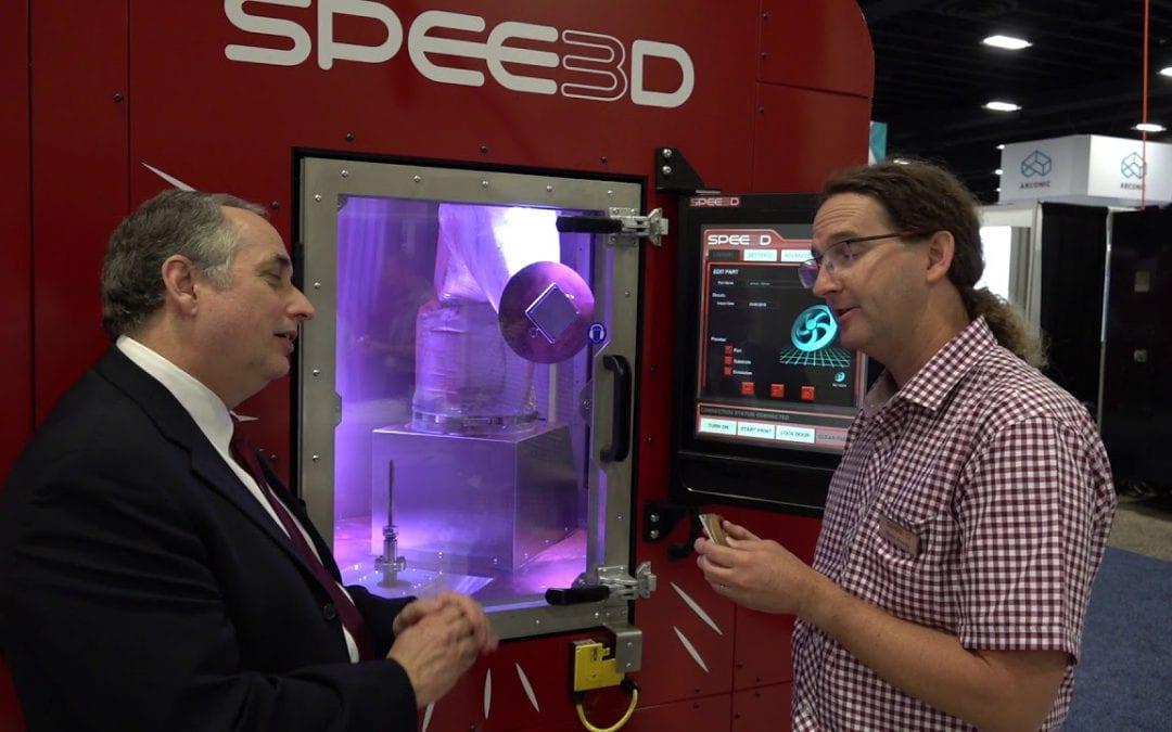 SPEE3D: Fastest Metal 3D Printer
