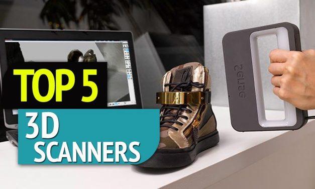TOP 5: 3D Scanners 2018