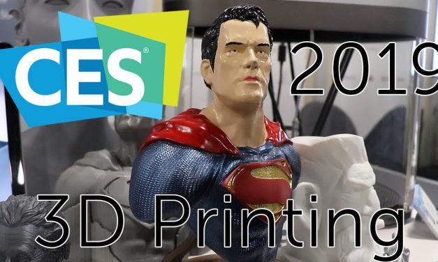 3D Printing at CES 2019