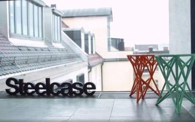 Steelcase 3D Printing Furniture Prototypes