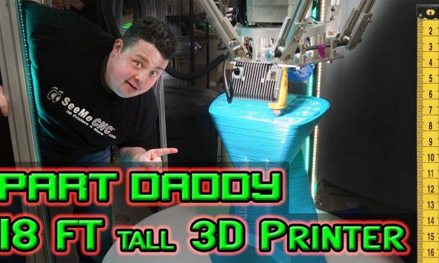 World's Largest 3D Printer Making Furniture