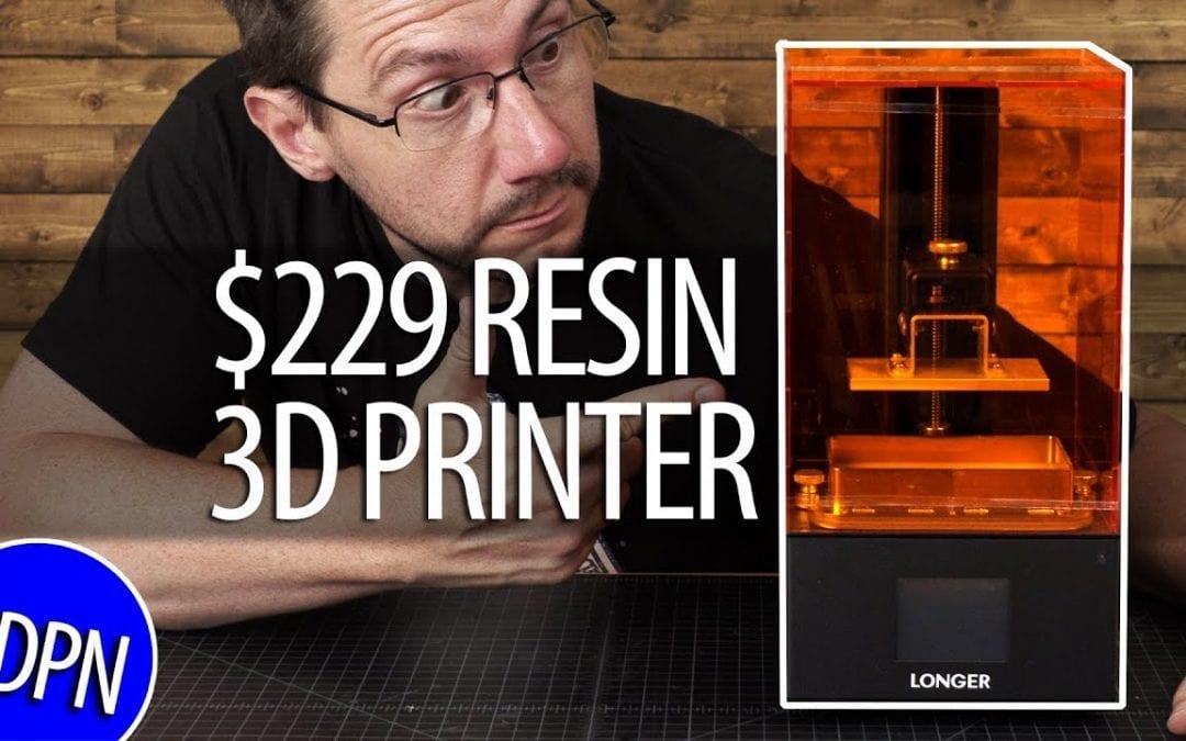 $229 Resin 3D Printer / Longer3D Orange 10 – Does It Work?