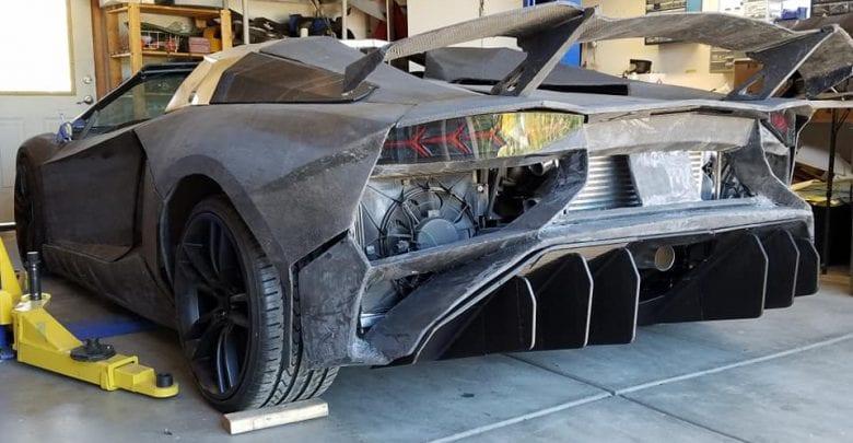You too could now 3D print a Lamborghini Aventador at home