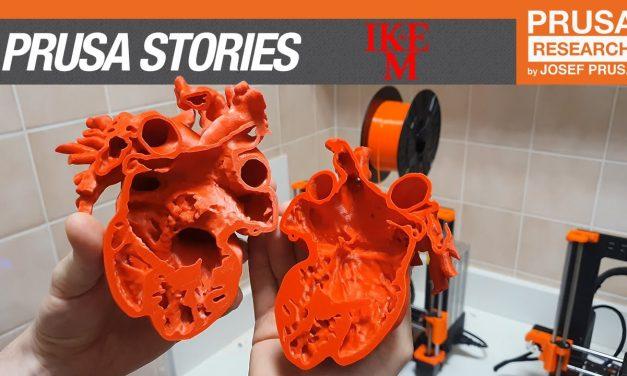 Prusa 3D printing stories: IKEM