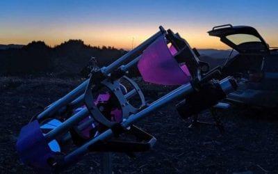 Analog Sky Drifter is a Customizable 3D Printed Binocular Telescope