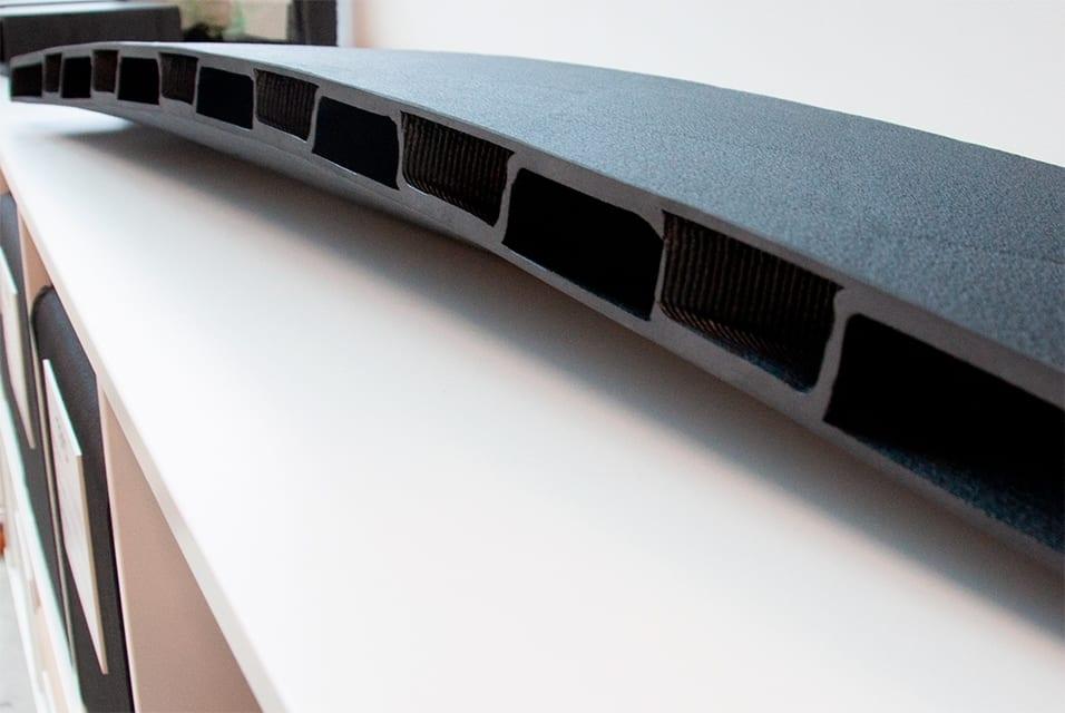 Companies announce the first lightweight 3D printed FRP pedestrian bridge