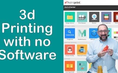 Astroprint 3.0 Best 3d Printer Software for Beginners