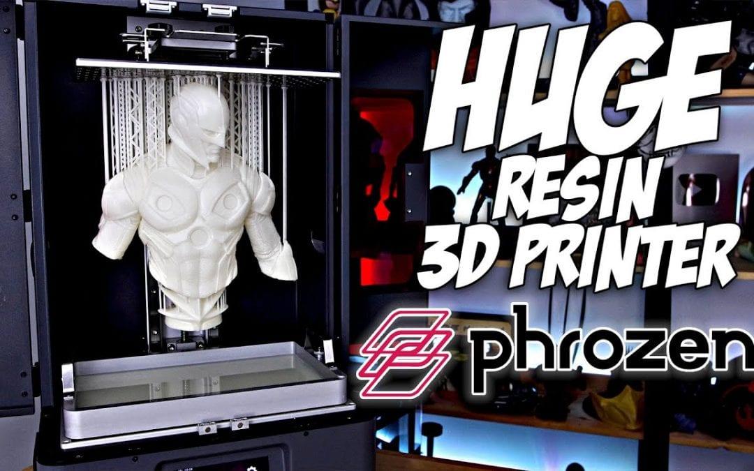 Initial Impressions – Phrozen Transform Resin 3D Printer – Huge Resin 3D Printer