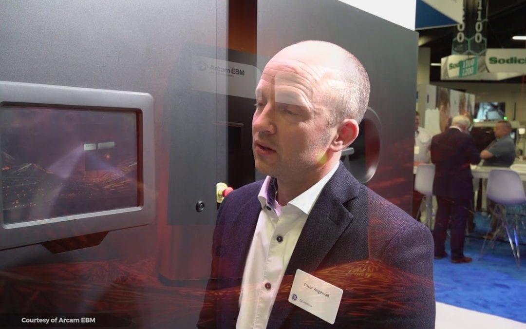 New GE Arcam EBM Machine Prints Metal Parts at 1000°C