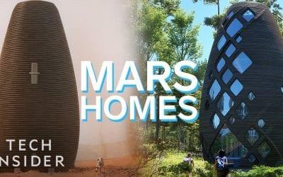 The Mars Homes That NASA Awarded $500k
