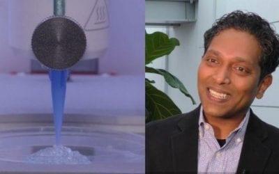 Indian Origin Scientist 3D Prints Skin With Blood Cells To Heal Diabetics & Burn Victim Wounds
