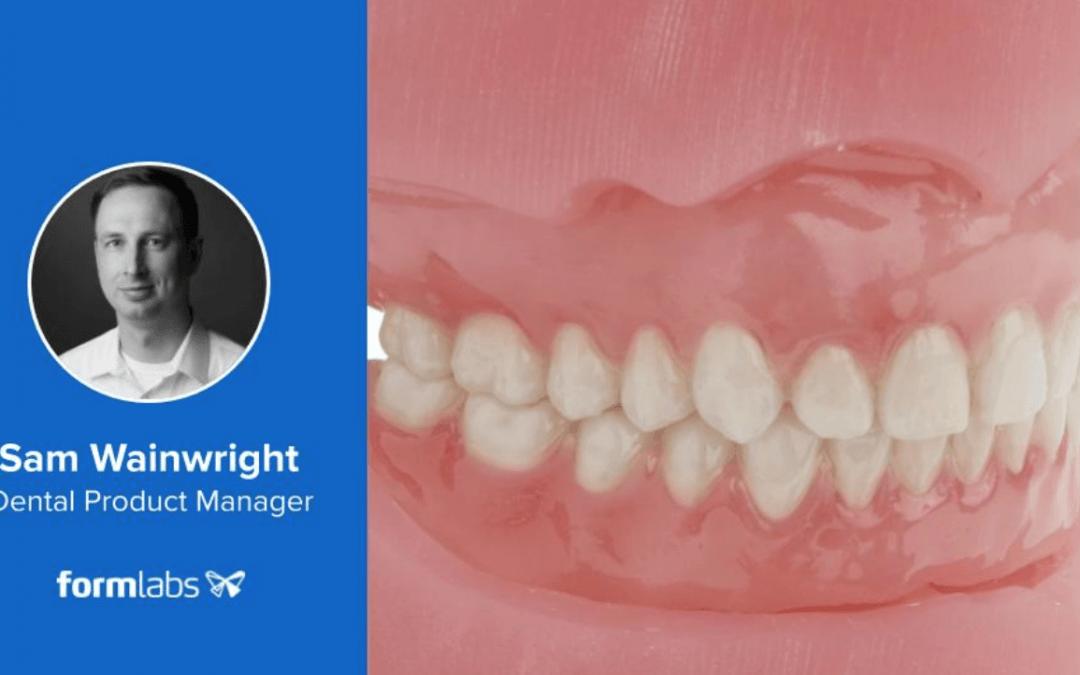 Formlabs Tells Us How to Make Good Looking 3D Printed Dentures