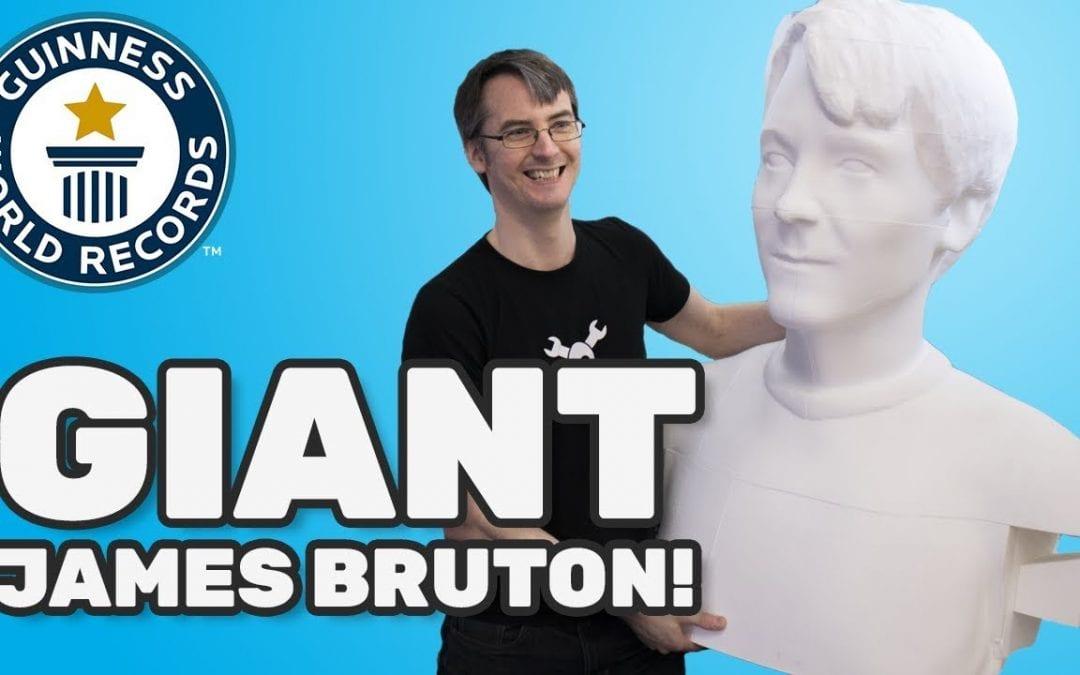 Tallest 3D-printed sculpture of a human