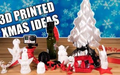 3D Printed Christmas Ideas: Presents & Ornaments – Useful 3D Prints