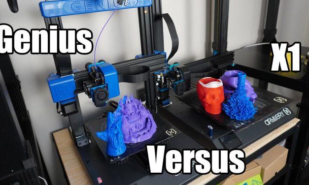 Artillery Genius 3D Printer Review | Sidewinder X1 VS Genius Comparison