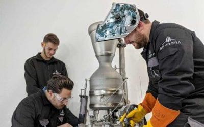 3D printed rocket set for testing in Scotland