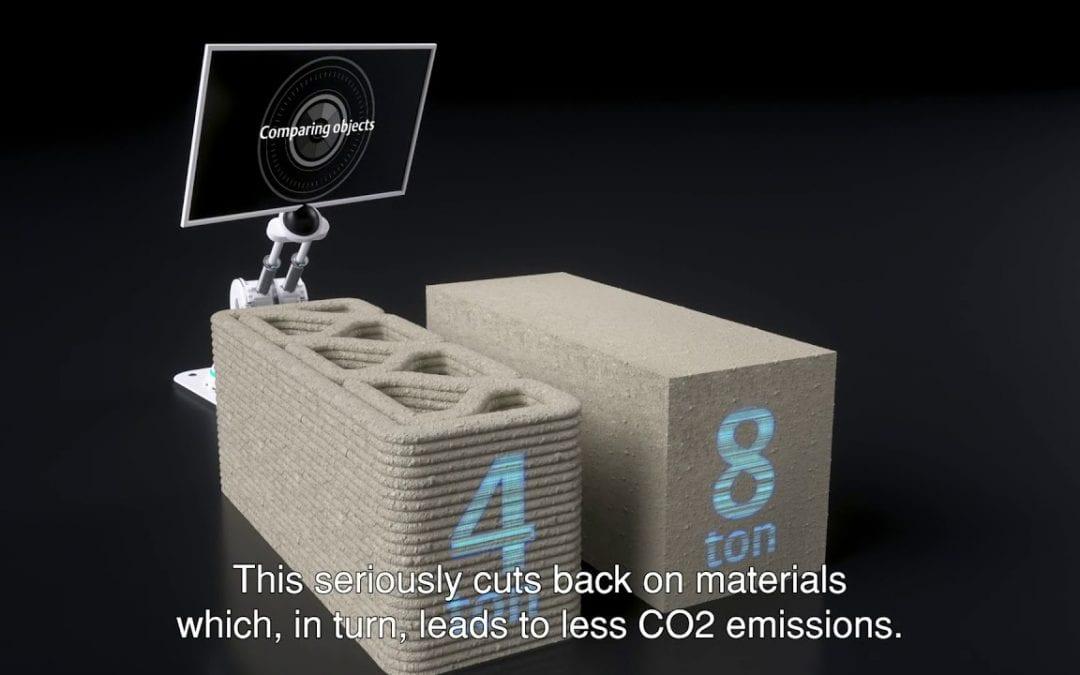 3D concrete printing explainer video
