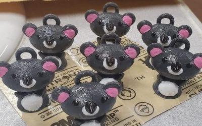 Family 3D Printing Koalas to Raise Money for Australian Charity