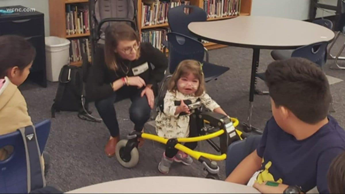 North Carolina 6th Graders Use 3D Printing To Change 2-Year-Old's Life