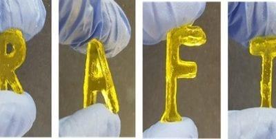 Researchers 3D print 'living' plastics