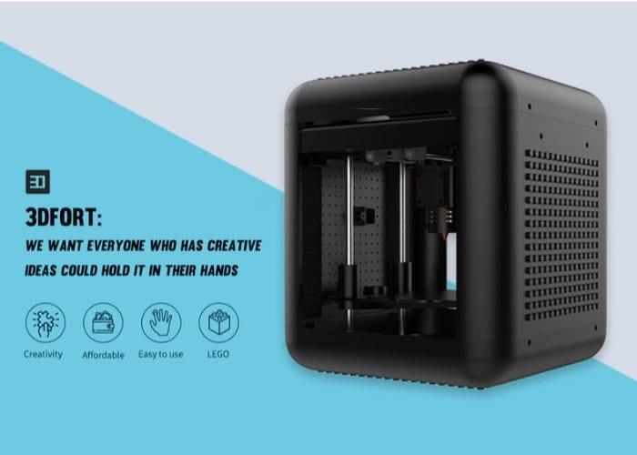 3DFORT 3D printer from just $59 on Kickstarter