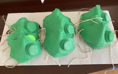 Natick teen's 3D printing gift: Masks for medical staff on coronavirus duty