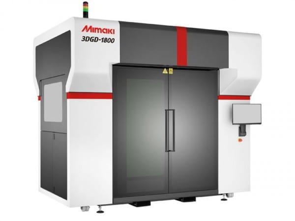 Mimaki Europe announces large-scale 1.8 metre 3D printer
