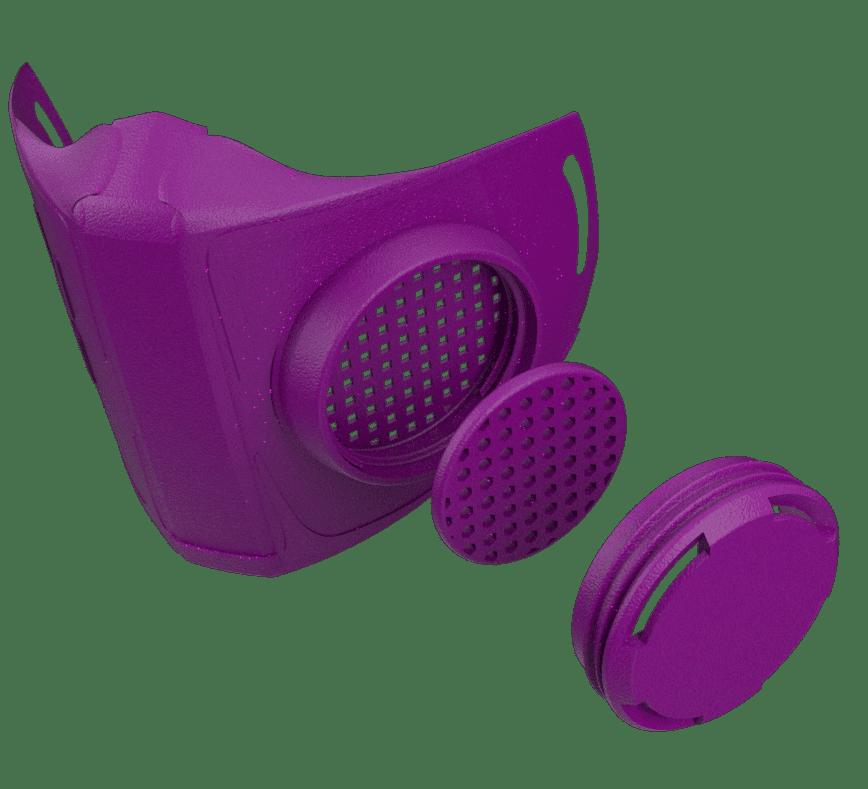 NanoHack, the Open Source Respirator Mask