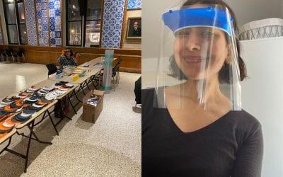 Columbia University librarian kickstarts 3D printing production of protective face shields