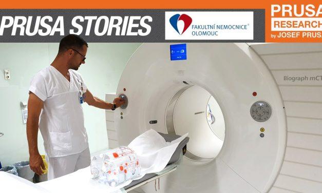 Prusa 3D printing stories: University Hospital Olomouc