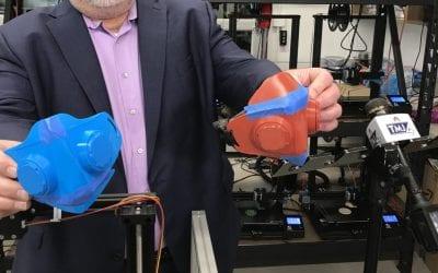Concordia University 3D prints medical masks due to shortage
