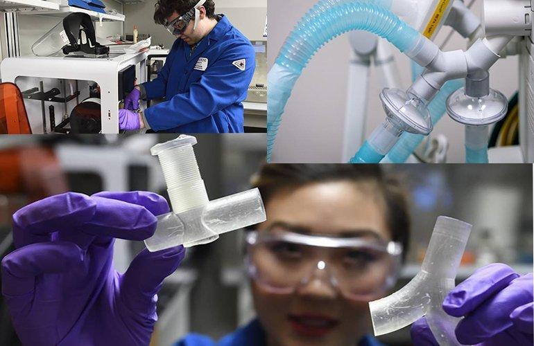 How 3D printing is enabling ventilator splitting
