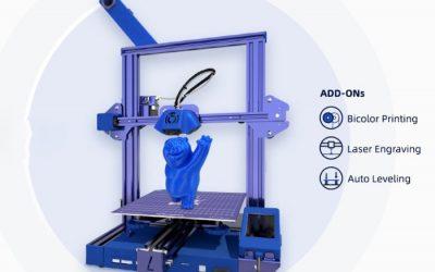 Lotmaxx SC-10 Shark 3D printer hits Kickstarter from $199