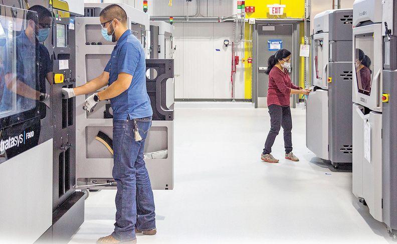GM takes 3D printing beyond prototypes