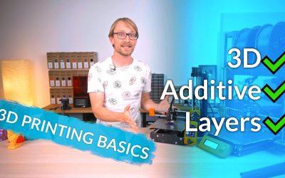 3D Printing Basics – Thomas Sanladerer