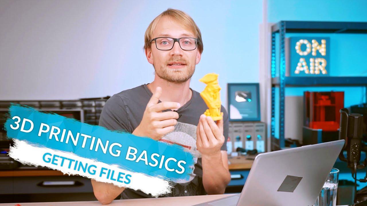 3D Printing Basics: Where to get printable models! (Ep5)
