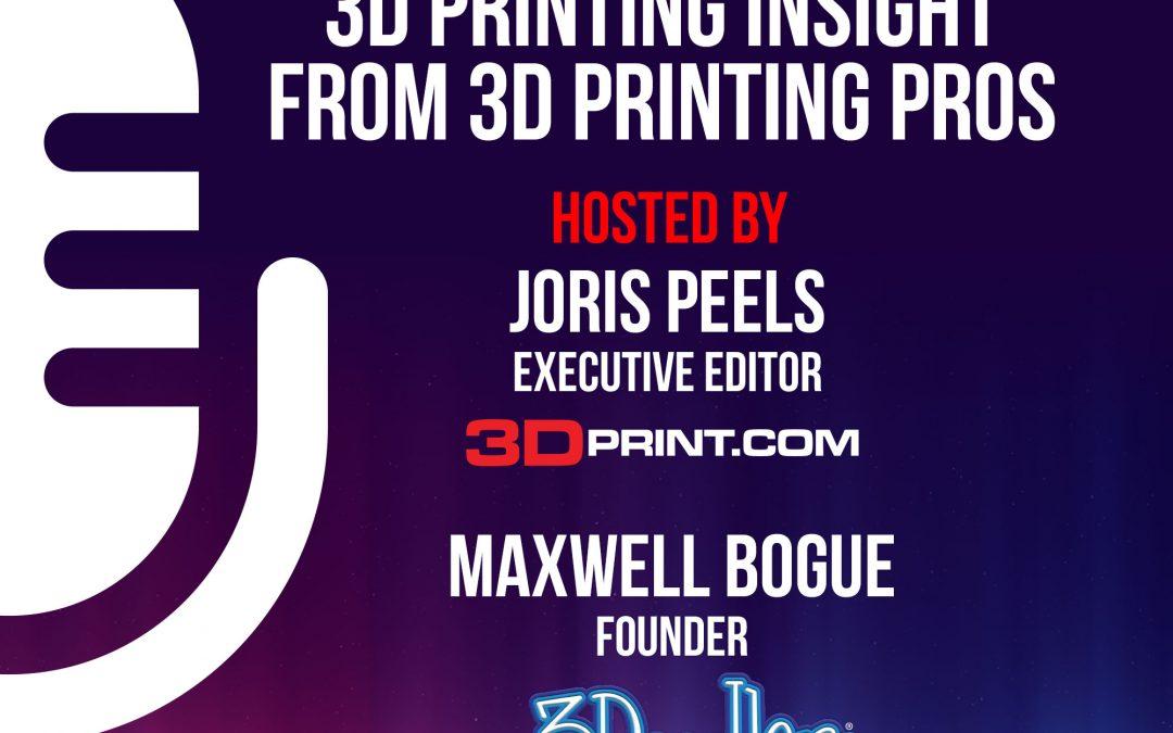3DPOD Episode 28: Ramon Pastor, HP 3D Printing